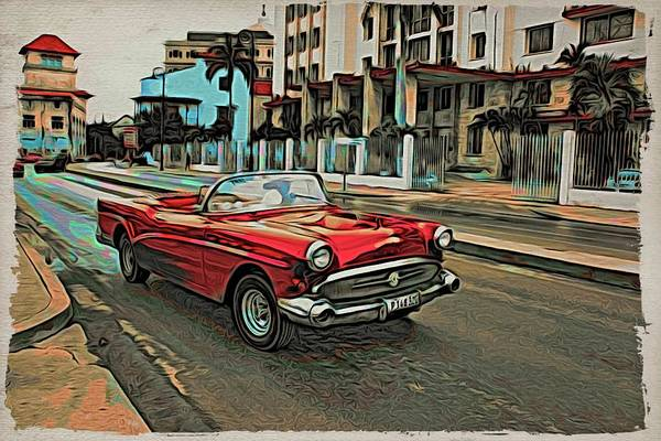 Photograph - Havana Red And Ready by Alice Gipson