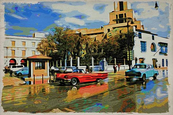 Photograph - Havana Reflections by Alice Gipson