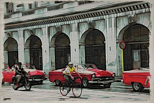 Photograph - Havana Rojos by Alice Gipson