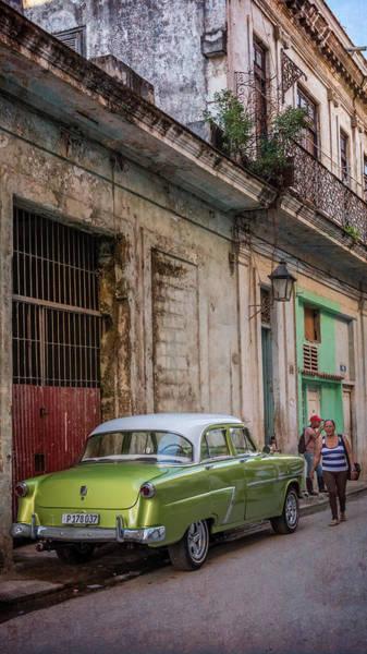 Photograph - Havana Street Scene by Joan Carroll