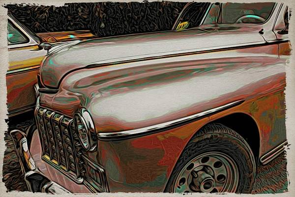 Photograph - Havana Taxi Cool by Alice Gipson