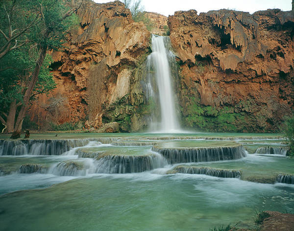 Photograph - 513211-havasu Falls  by Ed  Cooper Photography