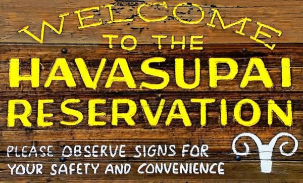 Photograph - Havasupai Reservation by Joseph Hendrix