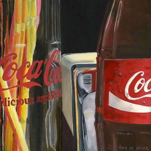 Coca Cola Painting - Have A Coke... by Rob De Vries