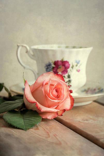 Photograph - Have A Cup Of Tea Please by Jaroslaw Blaminsky