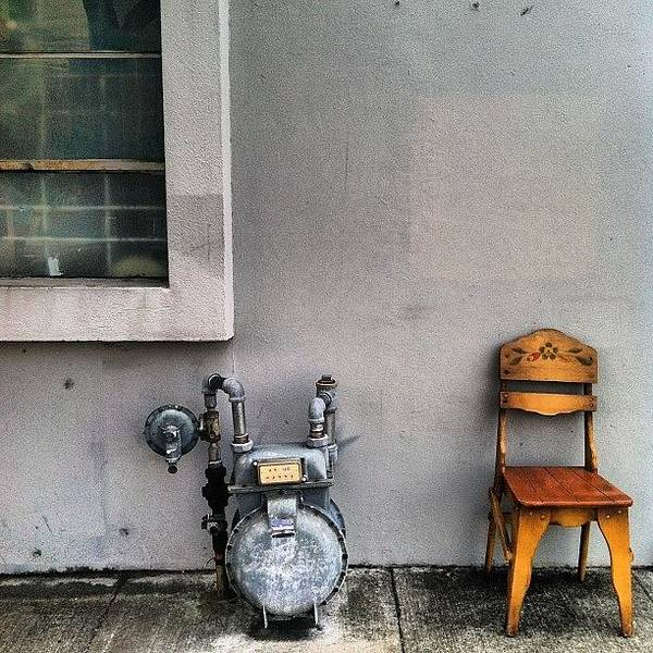 Minimalism Photograph - Have A Seat by Courtney Haile