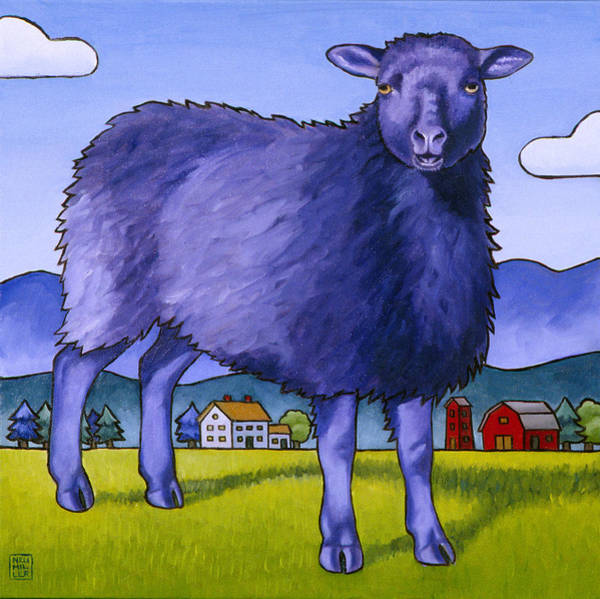 Wall Art - Painting - Have You Any Wool by Stacey Neumiller