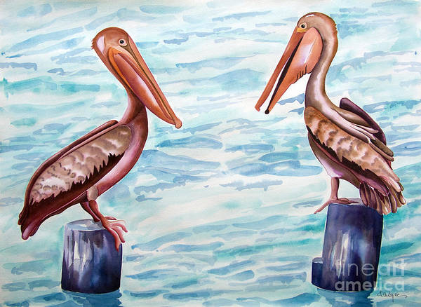 Have You Been To The Gulf  Art Print