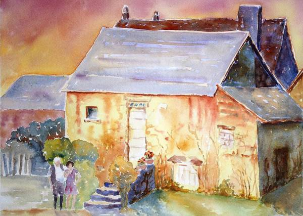 Painting - Have You Heard by Tara Moorman