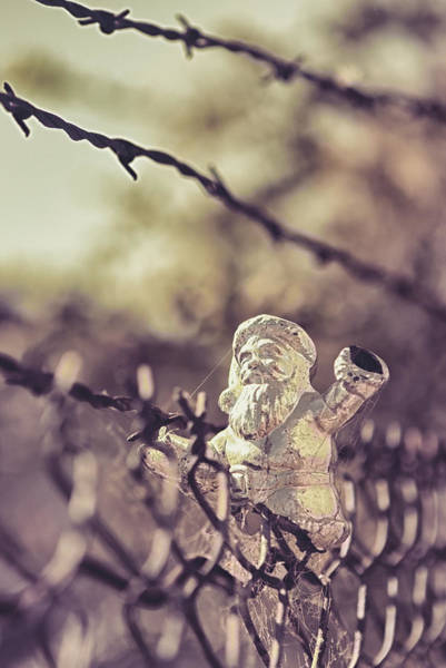 Chain Link Photograph - Have Yourself A Merry Christmas by Caitlyn Grasso