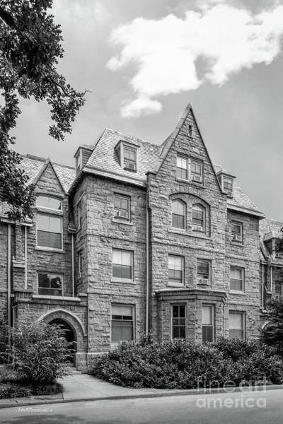 College Photograph - Haverford College Barclay Hall by University Icons