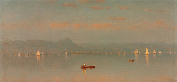 West Bay Painting - Haverstraw Bay by Sanford Robinson Gifford