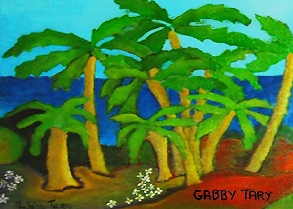 Painting - Hawaii by Gabby Tary