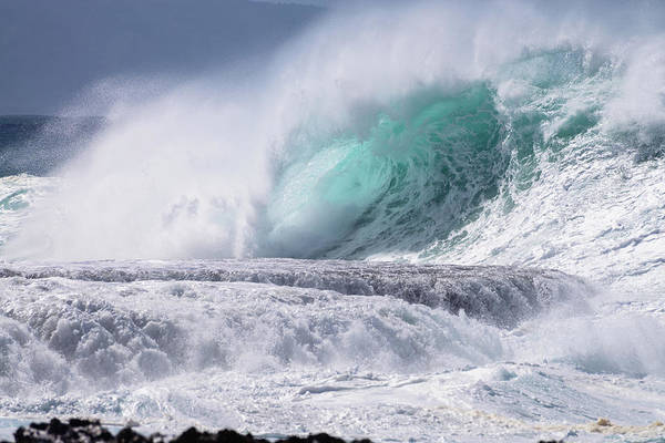 Photograph - Hawaii Tidal Wave by Michael Scott