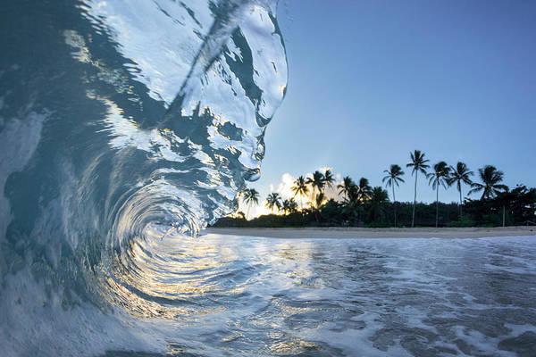Crystal Coast Photograph - Hawaiian Crystal by Sean Davey