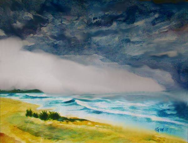 Painting - Hawaiian Storm by Andrew Gillette