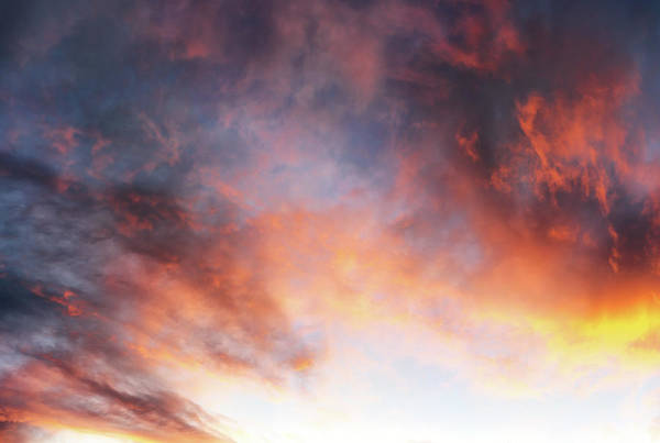 Photograph - Hawaiian Sunset Clouds by Christopher Johnson