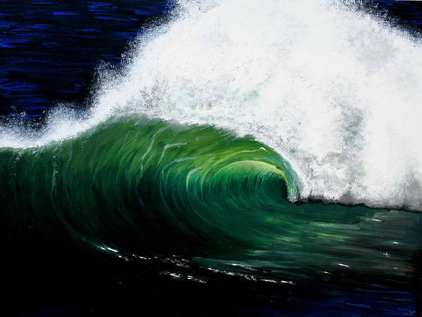 Painting - Hawaiian Wave by Pierre Leclerc Photography
