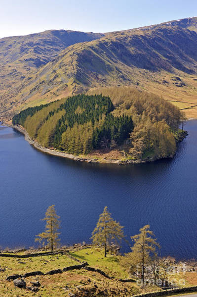 Haweswater Wall Art - Photograph - Haweswater And The Rigg. by Stan Pritchard