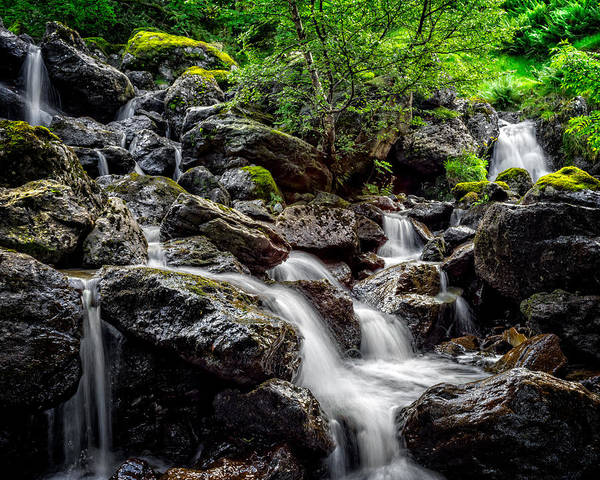 Haweswater Wall Art - Photograph - Haweswater Cascade by Out Venture