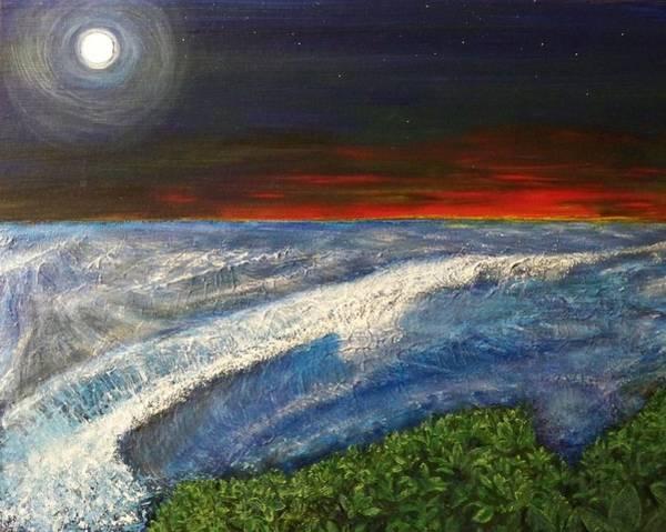 Painting - Hawiian View by Michael Cuozzo