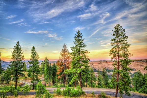 Hawk Creek Photograph - Hawk Creek Sunset by Spencer McDonald