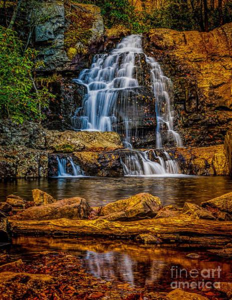 Photograph - Hawk Falls Pennsylvania by Nick Zelinsky