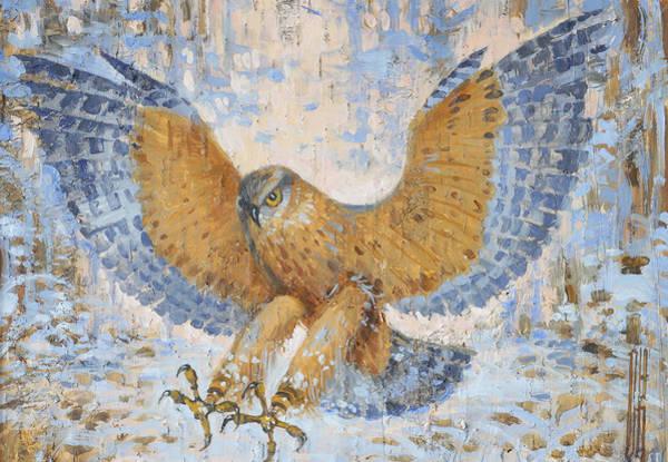 Painting - Hawk by Ilya Kondrashov