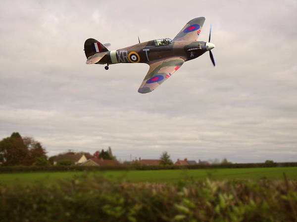 Photograph - Hawker Hurricane -1 by Paul Gulliver