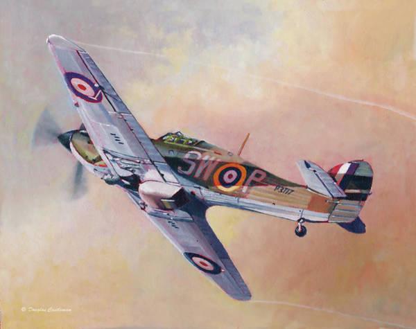 Painting - Hawker Hurricane by Douglas Castleman