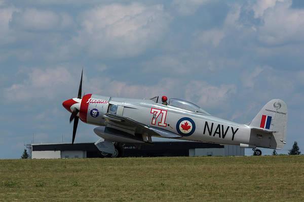 Hawker Sea Fury Photograph - Hawker Sea Fury Fb-11 Airplane 1 by John Brueske