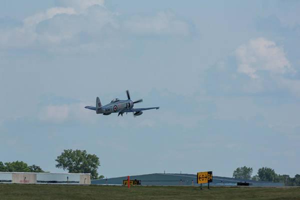 Hawker Sea Fury Photograph - Hawker Sea Fury Fb-11 Airplane 2 by John Brueske