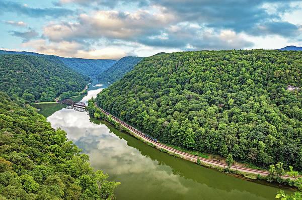 Wall Art - Photograph - Hawk's Nest West Virginia 3 by Steve Harrington