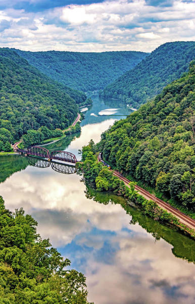 River Hawk Photograph - Hawk's Nest Wv 2 by Steve Harrington