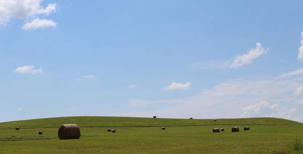 Wall Art - Photograph - Hay Bale Hills by Weathered Wood