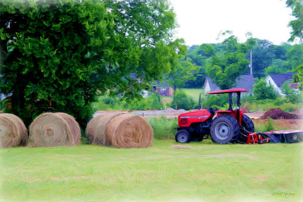 Photograph - Hay Day 2 by Ericamaxine Price