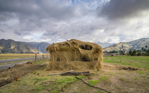 Hay Hut In Andes Art Print