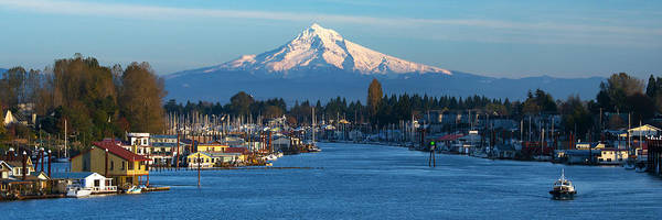 Wall Art - Photograph - Hayden Island And Mt. Hood by Patrick Campbell