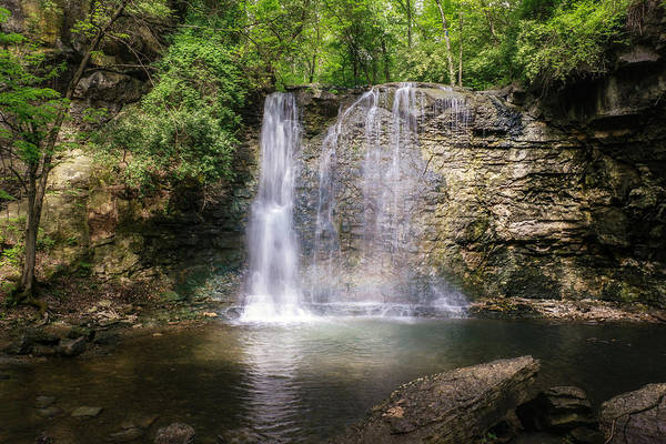 Run Wall Art - Photograph - Hayden Run Waterfall by Tom Mc Nemar