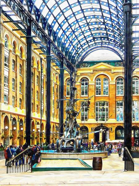 Hays Galleria Wall Art - Photograph - Hay's Galleria London by Dorothy Berry-Lound
