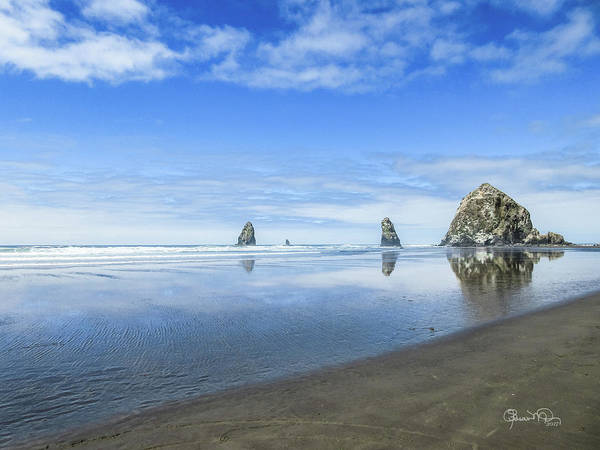 Photograph - Haystack Reflections by Susan Molnar