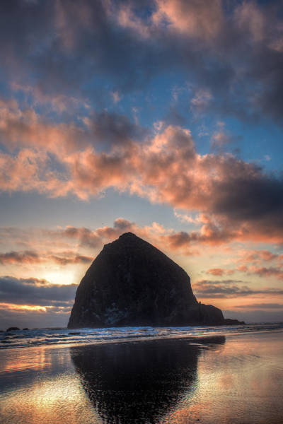 Wall Art - Photograph - Haystack Rock  by Drew Castelhano