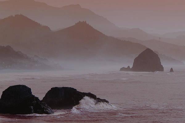 Photograph - Haystack Rock by Norman Hall