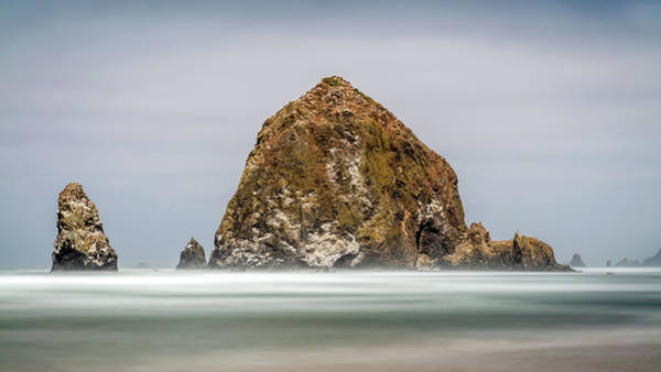 Photograph - Haystack Rock Oregon by Pierre Leclerc Photography