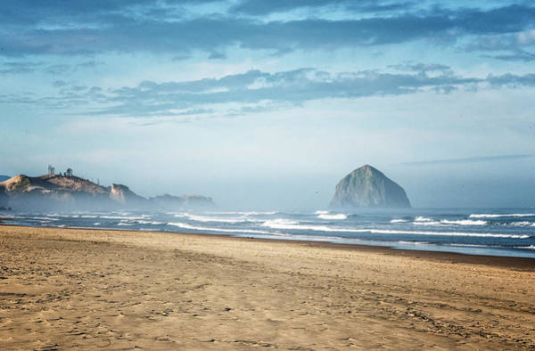 Photograph - Haystack Rock Pacific City by Tom Singleton