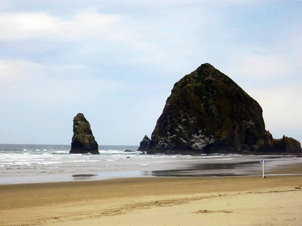 Photograph - Haystack Rock by Rick Locke