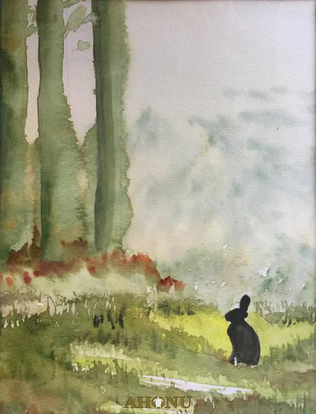 Painting - Hazel-rah by Ahonu