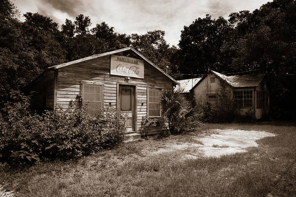Photograph - Hazel's Cafe by Chris Bordeleau