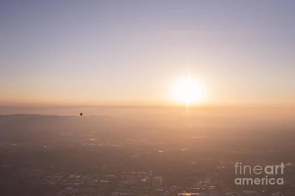 Photograph - Hazy Sunrise by Ray Warren