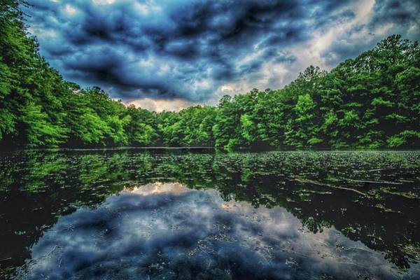 Photograph - Hdr Lake by Mike Dunn